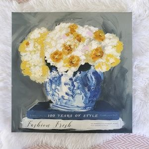 Other - Floral Fashion Yellow and Blue Canvas